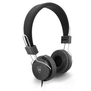 Ewent Opvouwbare hoofdtelefoon 1 x 3,5mm jack 1,5m zwart