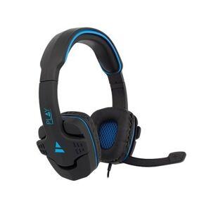 Ewent Gaming Headset - 2x 3,5mm Jack - 1,5 meter - Blauw/Zwart