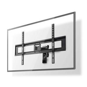 Nedis TV muurbeugel draai en kantelbaar  37 - 70 inch Max. 35 kg Zwenkbaar Zwart (3 scharnier punten)