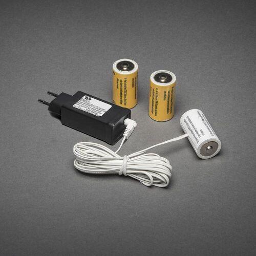 KD 230V - 3x C Adapter voor batterijartikelen