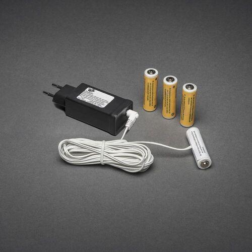 KD 230V - 4x AA Adapter voor batterijartikelen