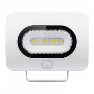 Goobay Compacte LED Schijnwerper 10W - Met Bewegingssensor - 800 lumen - Wit