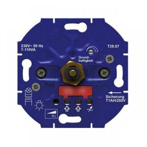Opus Inbouwdimmer voor LED- en spaarlampen met faseaansnijding