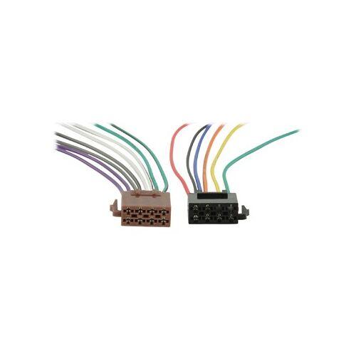 HQ ISO kabel voor autoradio met open einde