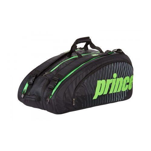 Prince Tennistas tour challenger bag black green  - Zwart - Size: One Size