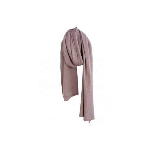 Sjaalmania Cosy eco cotton sjaals  - Roze - Size: One Size