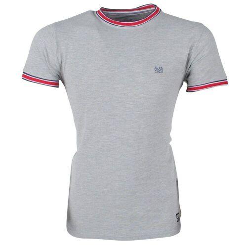 MZ72 heren t-shirt tennister -  - Grijs - Size: Small
