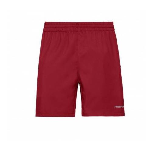 Head Tennisbroek men shorts club red-xl  - Rood - Size: 2X-Large