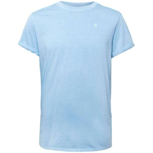 G-Star Lash r t ss delta blue  - Blauw - Size: Small