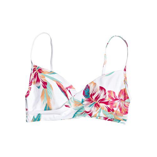 Roxy Lahaina bay wrap bra  - Wit - Size: Large