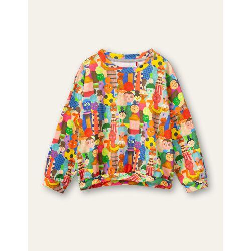 Oilily Hooi sweater-  - Groen - Size: 104