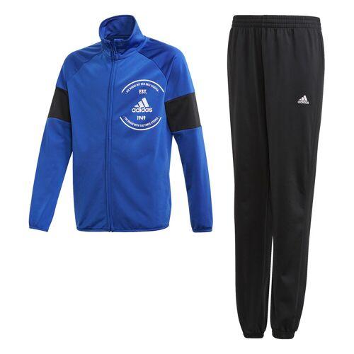 Adidas Trainingspak  - Blauw - Size: 128