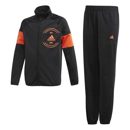 Adidas Trainingspak  - Zwart - Size: 140