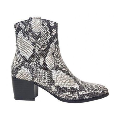 JJ Footwear Enkellaars epirus voetbreedte k  - Zwart - Size: 37