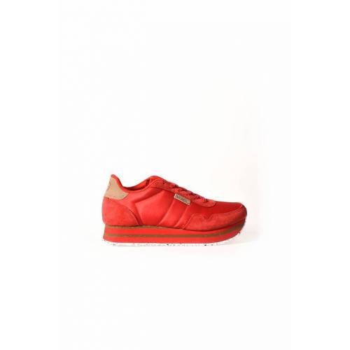 Woden Nora ii plateau ribbon red  - Rood - Size: 37
