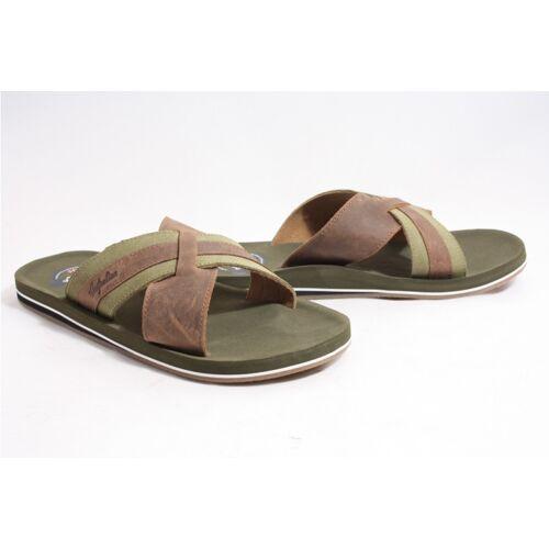 Australian Footwear Australian 15.1429.01 haamstede at sea slippers  - Bruin - Size: 41