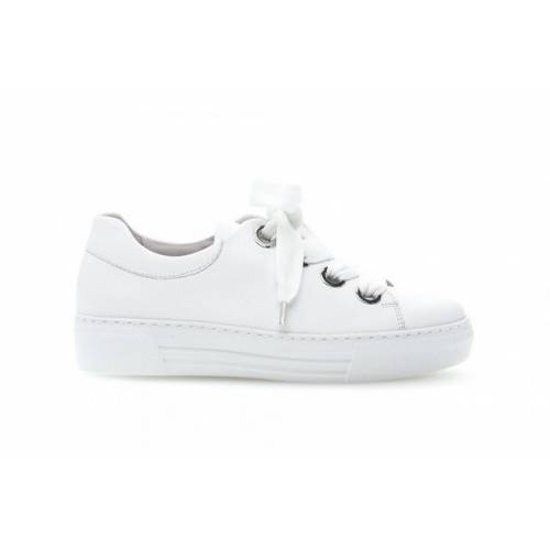 Gabor Sneaker veterringen noos  - Wit - Size: 40,5