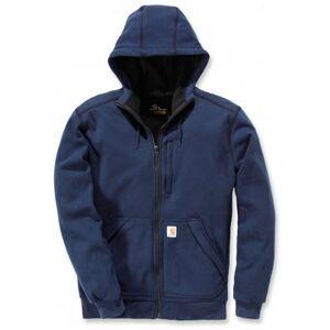 Carhartt Vest men wind fighter hooded sweatshirt navy-xl  - Blauw - Size: Extra Large