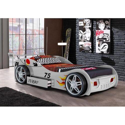 Unique Autobed RUNNER met lade - 90 x 200 cm - wit
