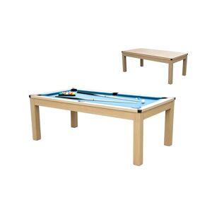 Unique Moduleerbare tafel - Biljart en tafeltennis BALTHAZAR - 213 x 112 x 81.5 cm - Blauw