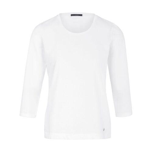 Windsor Dames Shirt ronde hals en 3/4-mouwen Van Windsor wit