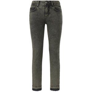 ANGELS Dames Skinny-7/8-jeans model Ornella Fringe Van ANGELS groen