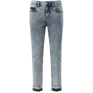 ANGELS Dames Skinny-7/8-jeans model Ornella Fringe Van ANGELS denim