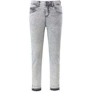ANGELS Dames Skinny-7/8-jeans model Ornella Fringe Van ANGELS grijs