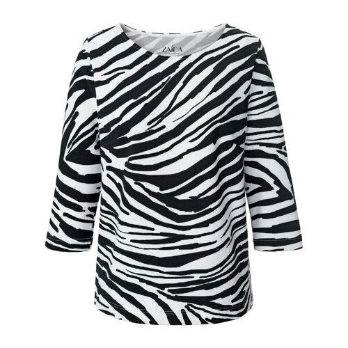 ZAIDA Dames Shirt 3/4-mouwen Van ZAIDA zwart