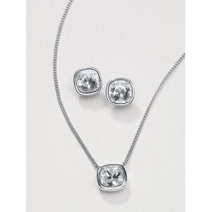 Uta Raasch Dames Ketting met kristal van Swarovski® Van Uta Raasch zilverkleur