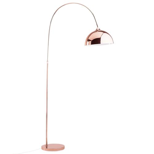 Beliani Staande lamp koper CANDELLA
