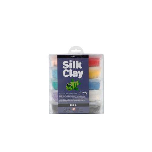 Silk Clay Klei Silk Clay Basis 1 40gr Assorti