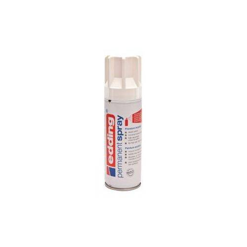 Edding Verfspuitbus Edding 5200 Permanent Spray Mat Verkeerswit