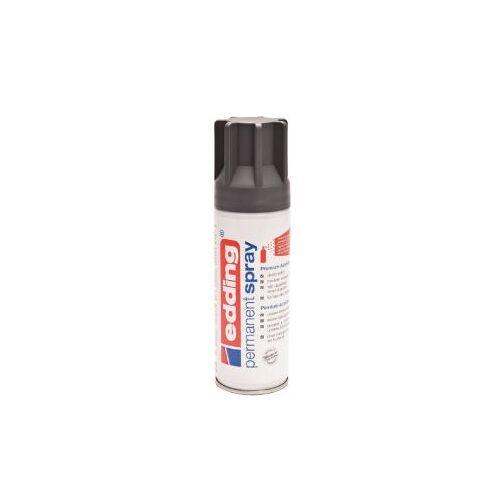 Edding Verfspuitbus Edding 5200 Permanent Spray Mat Antraciet