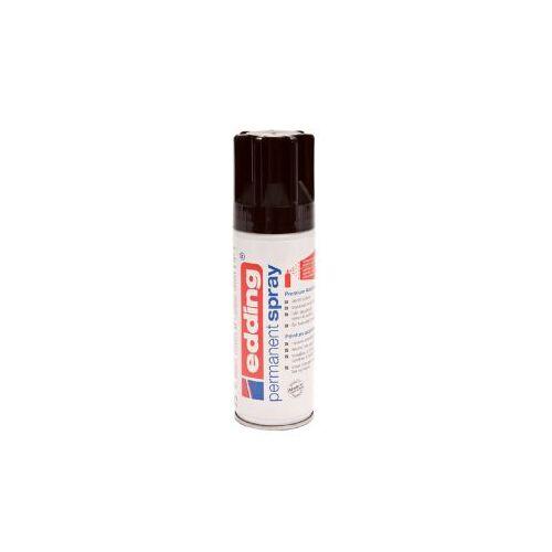 Edding Verfspuitbus Edding 5200 Permanent Spray Glossy Diepzwart