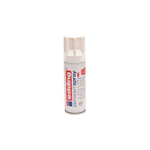 Edding Verfspuitbus Edding 5200 Permanent Spray Glossy Verkeerswit