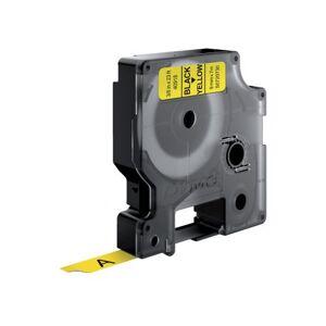 Dymo Labeltape Dymo 40918 D1 720730 9mmx7m Zwart Op Geel