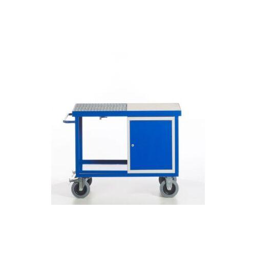 Discountoffice Milieu-Werkplaatswagen Draagverm. 600Kg 2Etage(S)