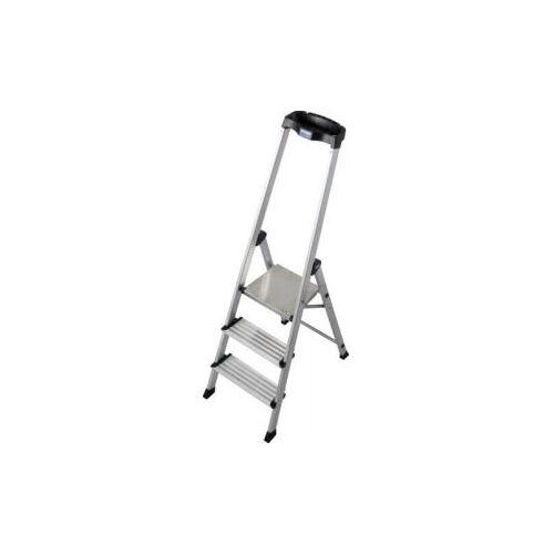 Discountoffice Trapladder Eenzijdig 3trede(n) Balk L 1 55m Aluminium