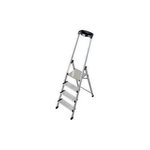 Discountoffice Trapladder Eenzijdig 4trede(n) Balk L 1 8m Aluminium