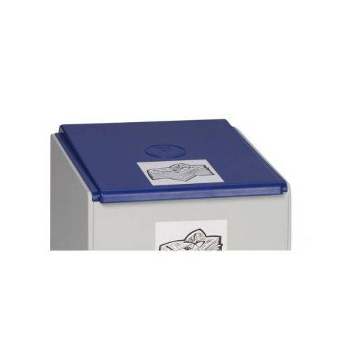 DiscountOffice Deksel Voor Afvalverzamelaar 60 Liter Blauw