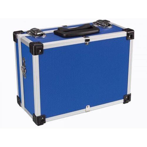 Perel Aluminium Gereedschapskoffer - 320 X 230 X 155 Mm - Blauw