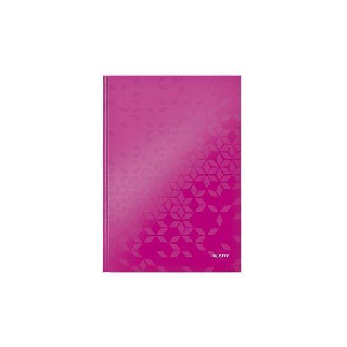 Leitz Notitieboek Leitz WOW A4 Lijn Roze