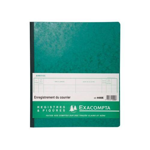 Exacompta Speciaal Register - Registratie Van De Post - 32x27cm - 26 Lijnen - 80