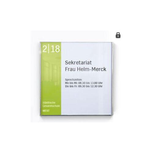 DiscountOffice Deurbord Hxbxd 151X152X7Mm Acryl Rvs