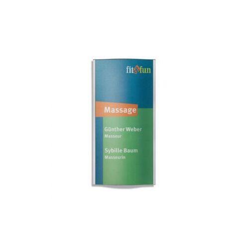 DiscountOffice Deurbord Hxbxd 200X100X8Mm Polycarbonaat Aluminium