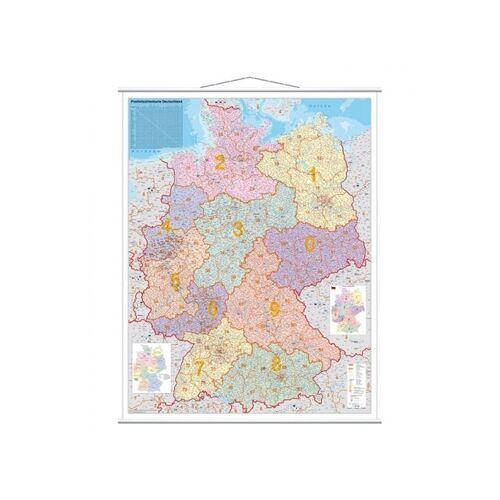 Franken Landkaartbord Duitsland Postcodekaart 97x137cm
