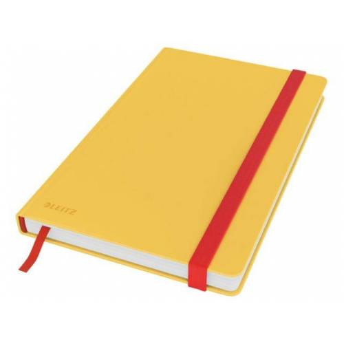 Leitz Notitieboek Leitz Cosy A5 Lijn Geel