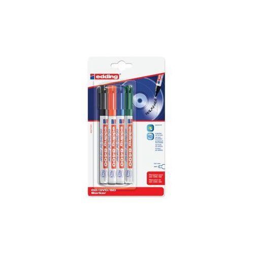 Edding Cd Marker Edding 8400 Rond Assorti 0.5-1.0mm Blister à 4st