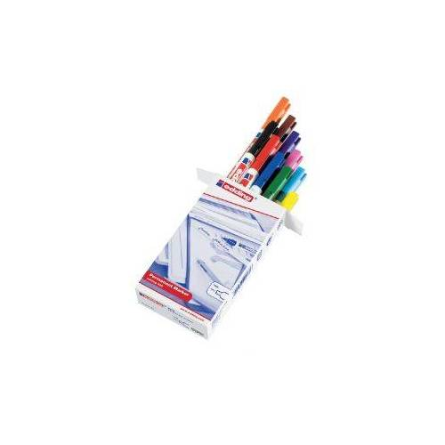 Edding Viltstift Edding 400 Rond Assorti 1mm Set à 10st